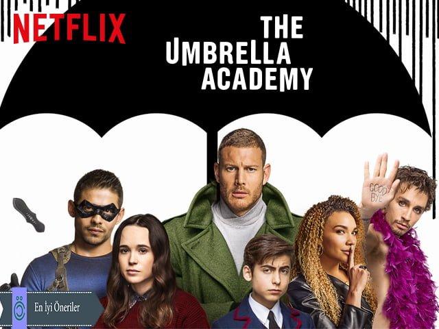 The umbrella academy - Netflix Dizileri
