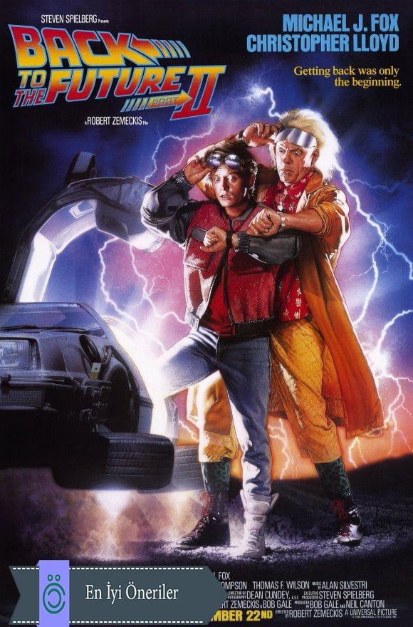 Geleceğe Dönüş 1 Poster