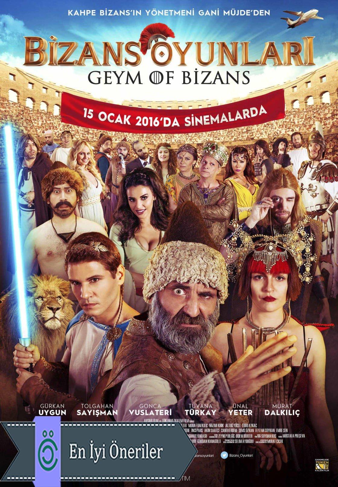 Bizans Oyunları Afiş