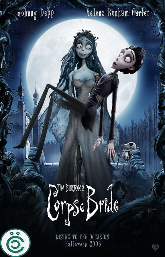 Ölü Gelin - Corpse Bride Afiş