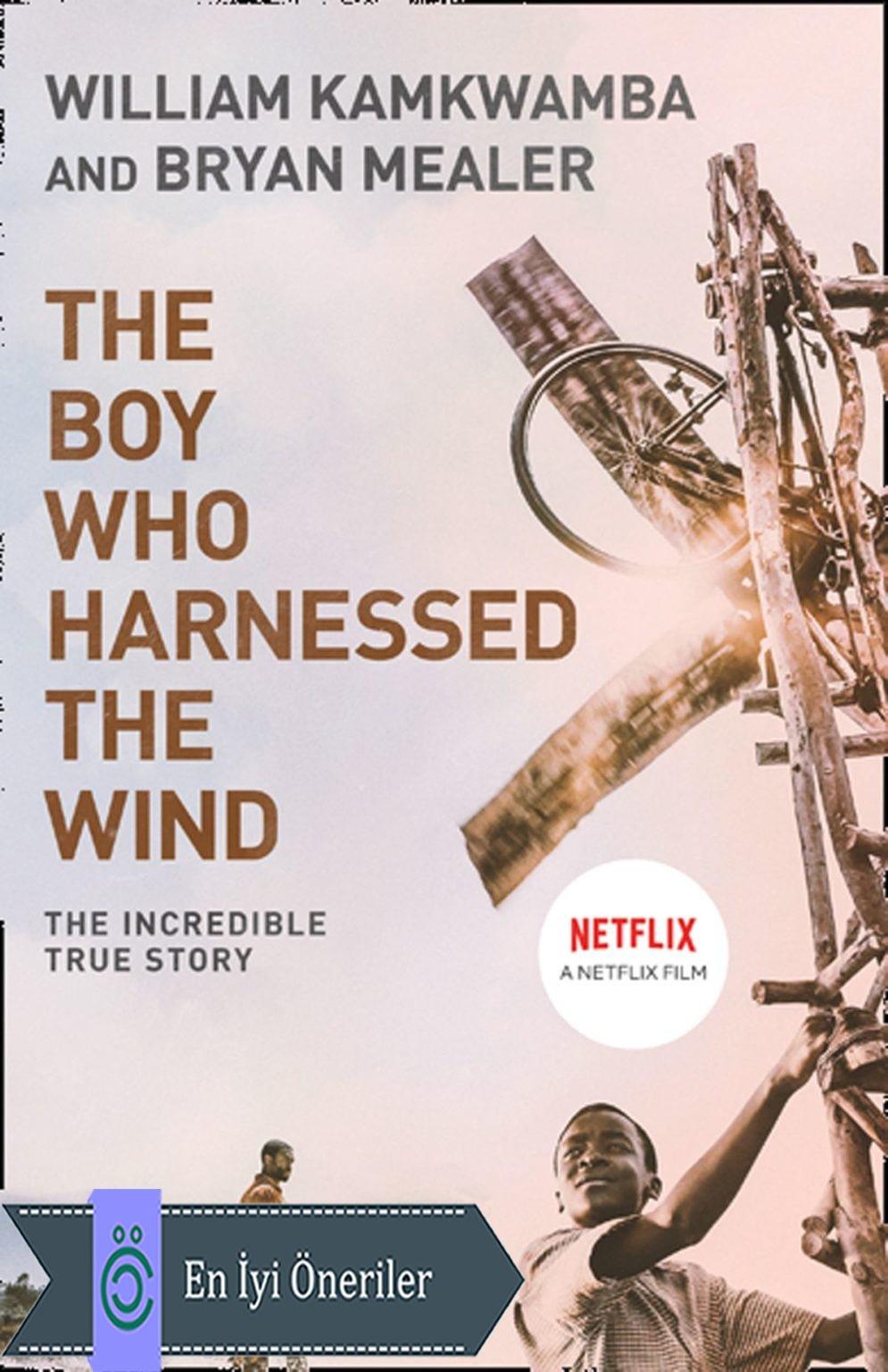 Rüzgârı Dizginleyen Çocuk Afiş